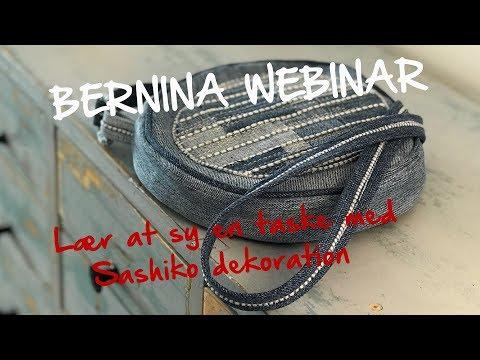 BERNINA Webinar: Sashiko taske