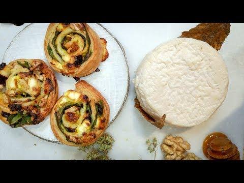 apéritif-festif-:-feuilletés-faciles-au-fromage-de-chèvre,-une-recette-à-partager