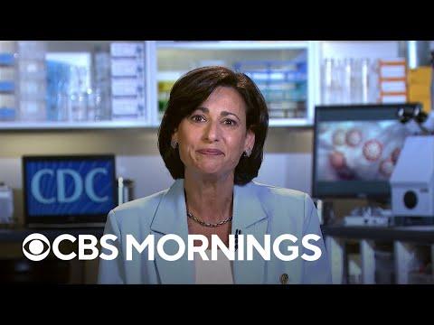 CDC director endorses booster shots for Moderna, Johnson & Johnson vaccines