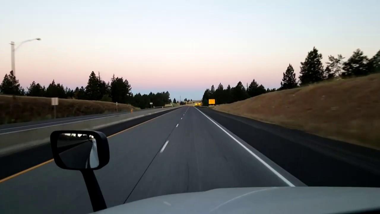 Pendleton to Troutdale Oregon Interstate 84