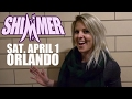 SHIMMER Championship - Candice LeRae vs. Mercedes Martinez - April 1st in Orlando!