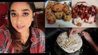 Chana Daal Vada (Bhalla) Chat || Rumali Roti | Indian Mom Vlogger