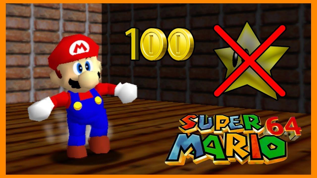 100 coins mario 64