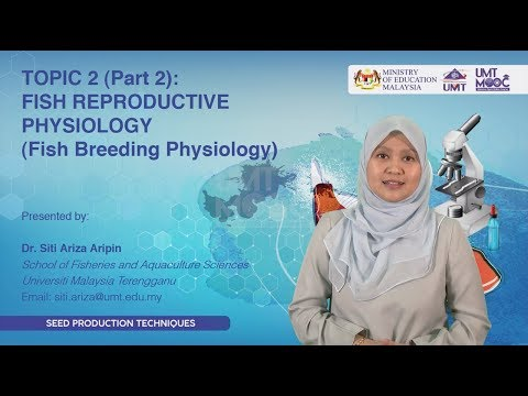 TOPIC 2 (Part 2) :  FISH REPRODUCTIVE PHYSIOLOGY ( Fish Breeding Physiology)