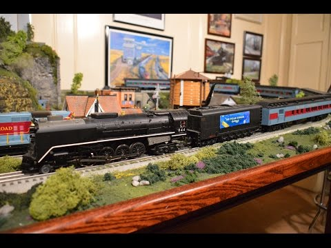 PawPaw's O Gauge Toy Train Layout Update #7   Christmas, 2016