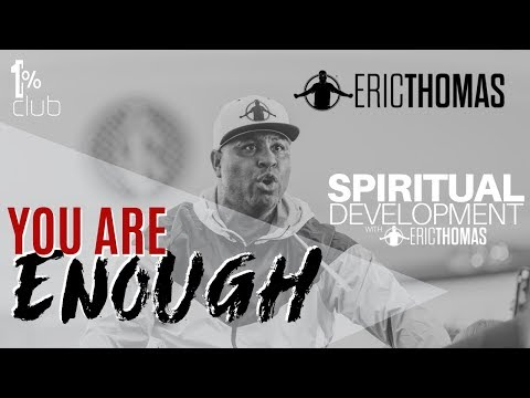 Donnie McClurkin - WATCH EMPOWERING! Eric Thomas You Are Enough