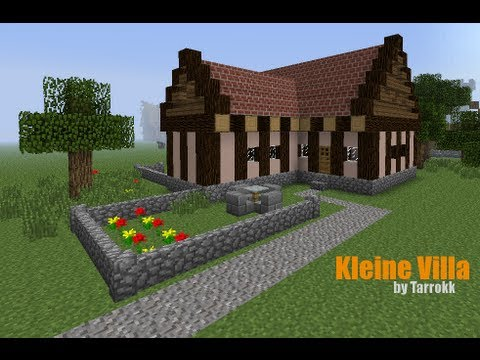 minecraft kleine villa einrichtung tutorial youtube. Black Bedroom Furniture Sets. Home Design Ideas
