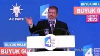 Mısır Cumhurbaşkanı Muhammed Mursi Ak Parti 4 kongresine katıldı.30.09.21012