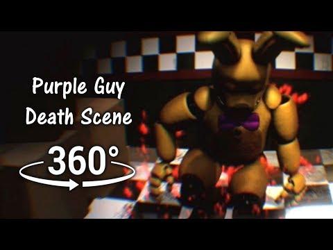360°| Purple Guy Death Scene - Spirit Prospect View [SFM] (VR Compatible)