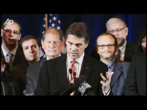 Perry Slams Obama On Israel Policy