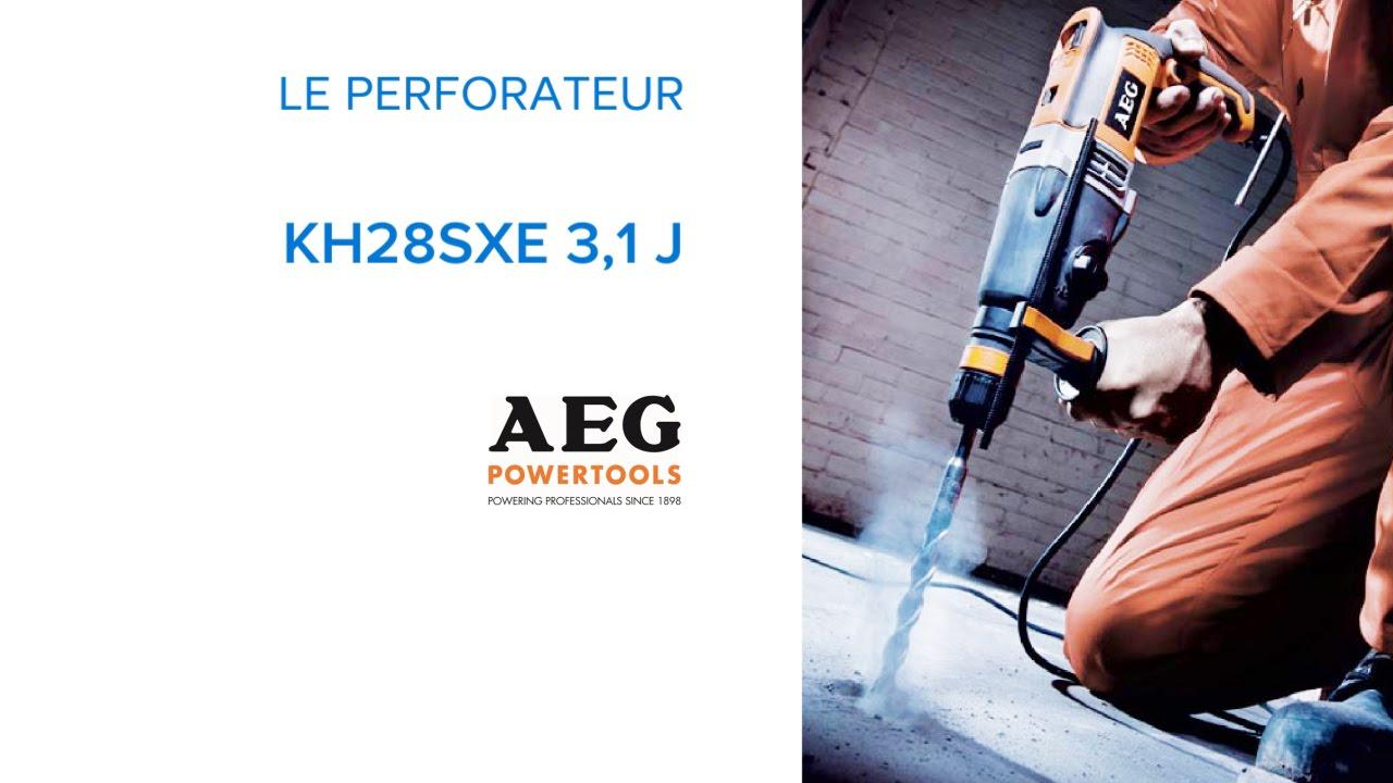 Perforateur Kh28sxe 3 1 Joules Aeg 230740 Castorama