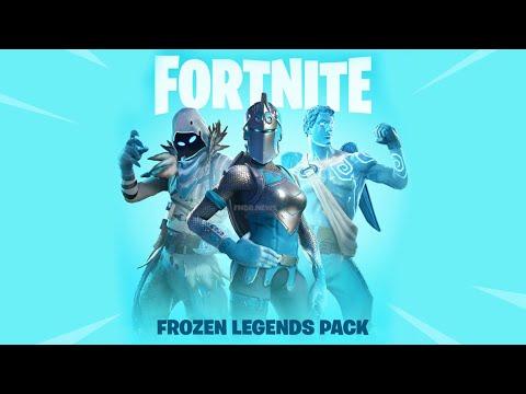 Fortnite Battle Royale Frozen Legends set with Gameplay ...