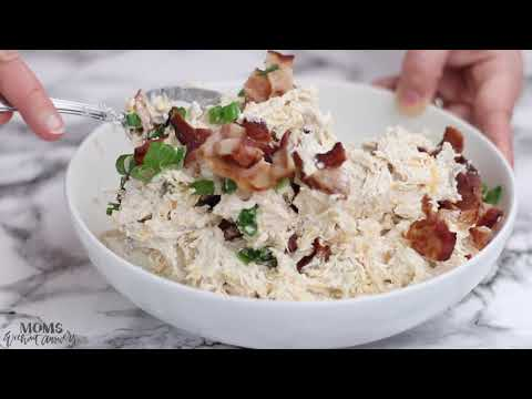 Keto Low Carb Chicken Salad Chicken Salad