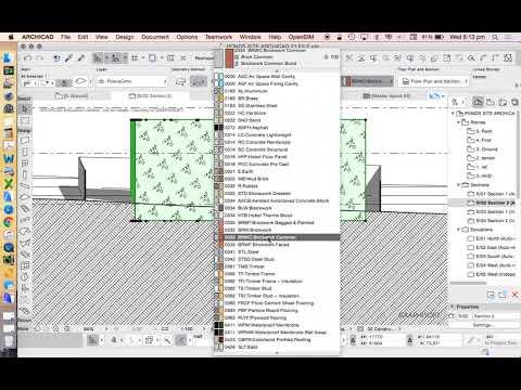 ArchiCAD 21 House Project - part 08 building envelope & boundary setbacks