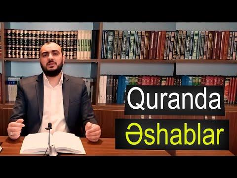 """Quranda Əshablar - 5 """" Əməl-dəftəri Hacı Xanmirzə"""
