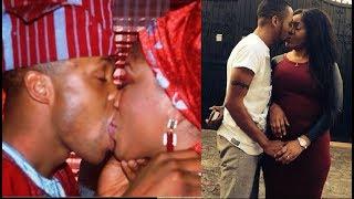 Papi Luwe39s SonActor Olasunkanmi Omobolanle  His WifeKiss To Celebrate 8th Yrs Wedding Anniversary