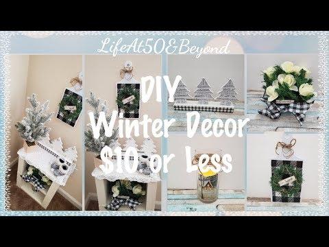 4 DIY WINTER DECOR IDEAS FOR $10 OR LESS COLLAB FARMHOUSE BUFFALO CHECK HOME DECOR