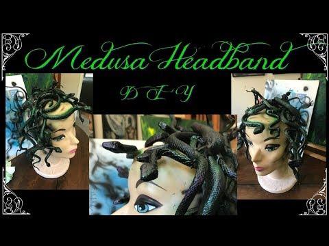 Medusa Headband DIY Medusa headpiece