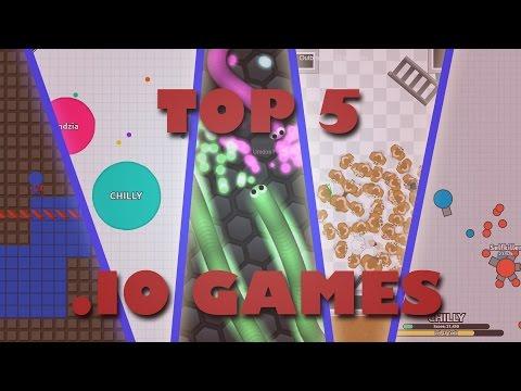 top 5 best io games list! most popular io games!
