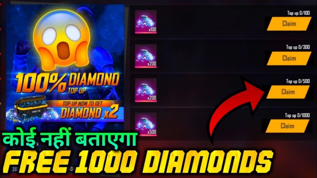 24kGoldn - Mood ❤️ 100% bonus diamond top up event | new topup event free fire | free fire new event