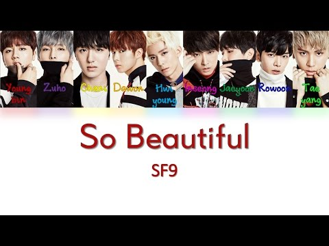 SF9 - 너와 함께라면 (So Beautiful) [HAN|ROM|ENG Color Coded Lyrics]