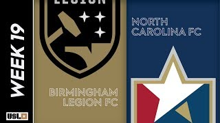 Birmingham Legion FC vs  North Carolina FC: July 13th, 2019