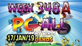 Angry Birds Friends Tournament All Levels Week 348-A PC Highscore POWER-UP walkthrough