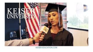 Keiser University Puts You First - Graduate Testimonials thumbnail