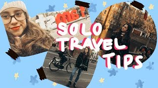 MY BEST TIPS FOR SOLO TRAVEL & Amsterdam vlog | greta luna