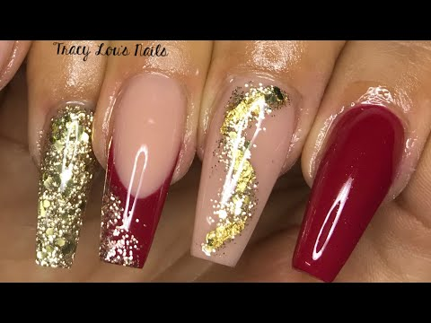NOT POLISH | ALL ACRYLIC SET | VALENTINE NAILS