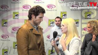 WonderCon New Superman Henry Cavill Talks Immortals Movie 3D Plays Lots of World of Warcraft