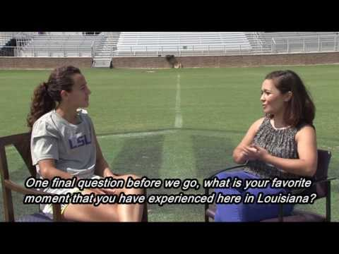 Interview with LSU Soccer's Fernanda Piña in her Native Language