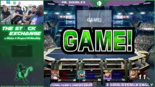 TSE3- PM Doubles- Soulster & Kingly vs. CyanCan & Sunflower