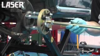 5648   Laser Tools   Hub Puller Press Kit & Adaptor + Force Screws