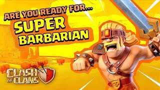 Super Barbarian Is All The Rage! (Clash of Clans Super Troops #1)