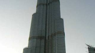 Burj Dubai tower - scary job...