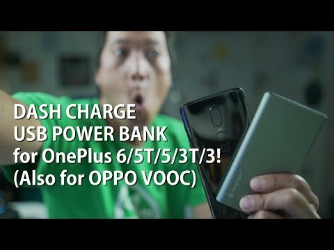 DASH CHARGE USB POWER BANK For OnePlus 6T/6/5T/5/3T/3! (Also For OPPO VOOC)