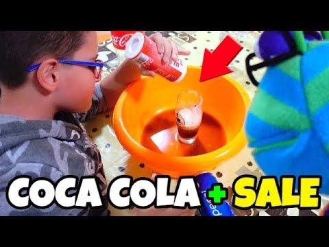 ESPERIMENTO FINITO MALE - COCA COLA e SALE   Leonardo D