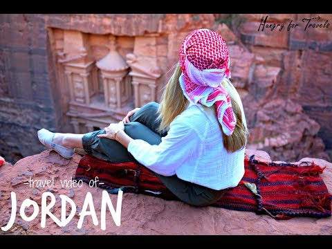 JORDAN travel video with Hungry for Travels!