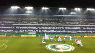 MSV Duisburg - Energie Cottbus DFB Pokal Halbfinale 01.03.2011 Choreo