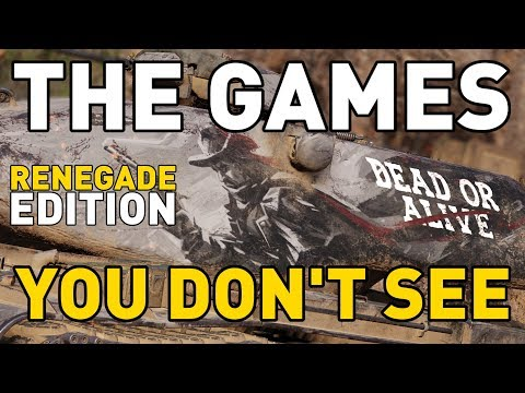 The Games You Don't See! *Renegade Edition*
