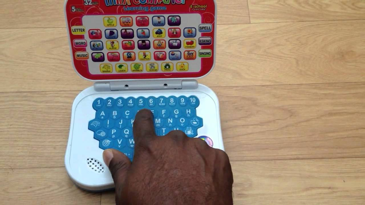 Mini Kids Laptop Learning Computer 27-09-12 - YouTube