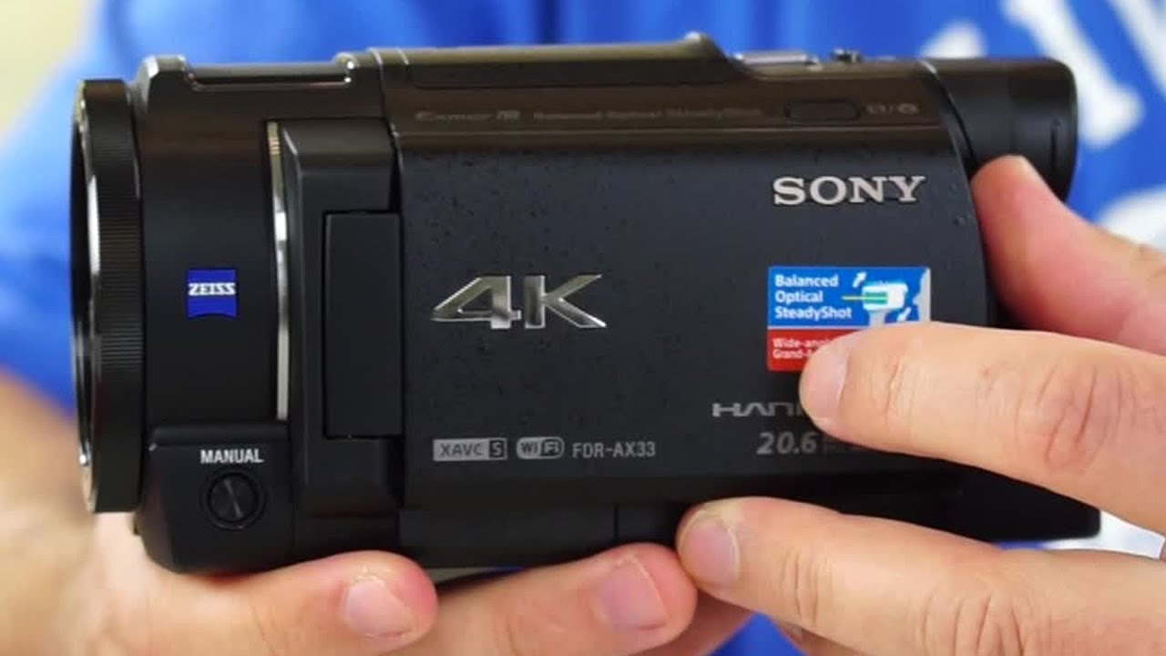 Sony Fdr Ax33 4k Uhd Camcorder Review Plus Sample Video