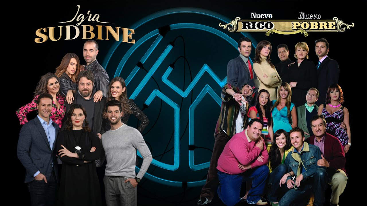 IGRA SUDBINE vs NUEVO RICO NUEVO POBRE - Likovi iz serija | TVINEMANIA