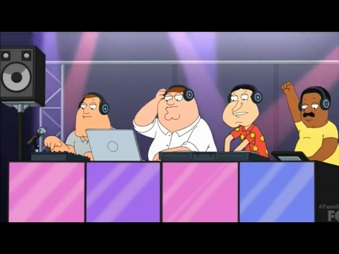 Family Guy - Peter And The Guys Become Dj's