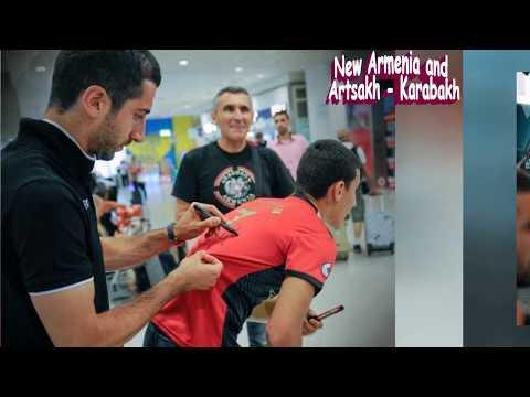 Мхитаряна уже ждали : сборная Армении по футболу в Греции