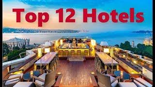 Kategoriye göre Türkiye'nin En Lüx 12 Oteli   Top 12 Hotels in Turkey
