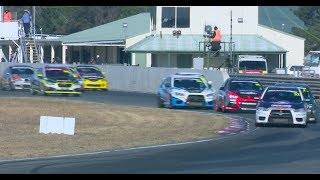 NSW Production Touring Cars Round 3 Race 2 Wakefield Park 2018
