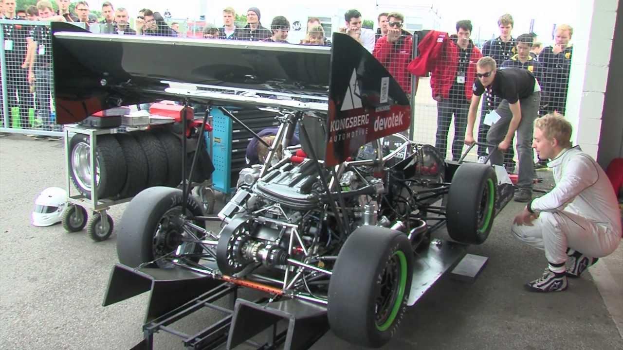 Formula Student 2013 (Silverstone) - Scrutineering - YouTube