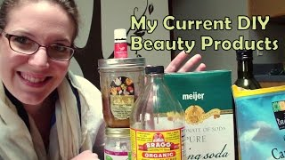 My Current Diy Beauty Products Routine